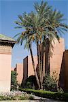 Saadian Tombs, Marrakech, Morocco, North Africa, Africa
