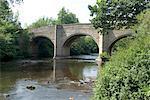 Neuhausen Brücke, Derbyshire, Peak District National Park, England, Vereinigtes Königreich, Europa