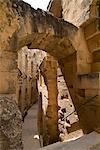 Roman Colosseum, El Jem, UNESCO World Heritage Site, Tunisia, North Africa, Africa