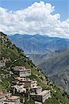 Monastère de Ganden, près de Lhassa, Tibet, Chine, Asie