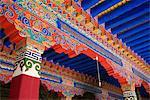 Le Temple de Jokhang, la structure religieuse plus vénérée au Tibet, Lhassa, Tibet, Chine, Asie