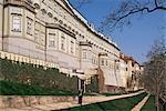 New Palace and Paradise Gardens, Prague Castle, Prague, Czech Republic, Europe