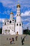 Campanile (clocher) d'Ivan le grand, Kremlin, Moscou, Russie