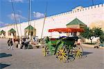 Place El Hedim, Meknès, Maroc, l'Afrique du Nord, Afrique