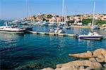 Porto Cervo, Costa Smeralda, l'île de Sardaigne (Italie), Méditerranée, Europe