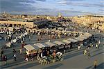Market, Jemaa el-Fna, Marakech, Morocco