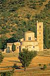 San Antimo Abbey, Siena, Tuscany, Italy