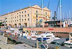 Entrepôt de coton ancien, pavillon de la mer, ville de l'enfance, Porto Antico (Vieux Port), Gênes (Genova), Ligurie, Italie, Europe