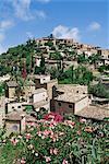 Village of Deia, Majorca, Balearic Islands, Spain, Mediterranean, Europe