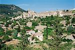 Village of Valldemossa, Majorca, Balearic Islands, Spain, Mediterranean, Europe