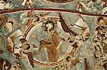 Jesus with angels, Christian frescoes in Sandal Church, Goreme Open Air Museum, Goreme, Cappadocia, Anatolia, Turkey, Asia Minor, Eurasia
