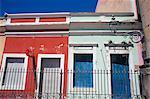 Bunte Häuser, Recife, Pernambuco, Brasilien, Südamerika