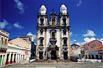 Catedral de São Pedro Dos Clerigos, eine portugiesische Kolonialzeit Barockkirche, Recife, Brasilien per., Südamerika