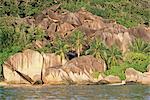 Plage de Source d'Argent, west coast, island of La Digue, Seychelles, Indian Ocean, Africa