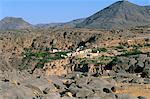 Village of Al Ain,Al Jabal Al Akkar region,Hajar Mountains,Sultanate of Oman,Middle East