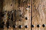 Close-up of door,Bieta Mercurios,Gabriel et Raphael,Lalibela,Wollo region,Ethiopia,Africa