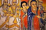 Ura Kedane Meheriet church,Zege peninsula,Lake Tana,Gondar region,Ethiopia,Africa