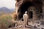 Christian monastery church,Gabriel Wuken,Mount Workamba,Tambien,Tigre provice,Ethiopia,Africa