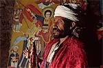 Priest,Bieta Maryam,Lalibela,Wollo region,Ethiopia,Africa