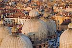 Toits, Venise, Vénétie, Italie