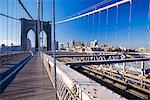 Pont de Brooklyn, New York, États-Unis d'Amérique
