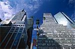 Vue d'angle faible de gratte-ciels, Park Avenue, New York City, New York, États-Unis d'Amérique, l'Amérique du Nord
