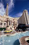 Paris Hotel and Casino, Las Vegas, Nevada, États-Unis d'Amérique, l'Amérique du Nord