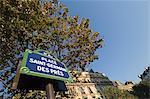Signe de Saint Germain, Paris, France