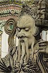 Stone statue,Bangkok,Thailand,Southeast Asia,Asia