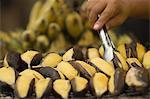 Banane à cuire, Bangkok (Thaïlande), l'Asie du sud-est, Asie