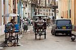 Back street, la Havane, Cuba, Antilles, l'Amérique centrale