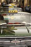 Taxis, la Havane, Cuba, Antilles, l'Amérique centrale