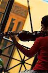 Violin player,Havana,Cuba,West Indies,Central America