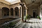 Intérieur balcon, la Havane, Cuba, Antilles, l'Amérique centrale