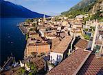 Limone, lac de garde, Lombardie, Italie