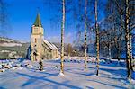 Church near Evje,Norway