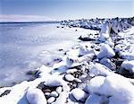 Un rivage glacé