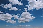 Cumulous Clouds in Sky