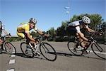 Courses cyclistes sur route