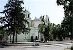 St Anne's Church in Wilanow, Warsaw, Poland