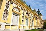 Detail of Wilanow Palace, Wilanow, Warsaw, Poland