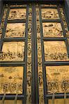 Portes du paradis, Porta del Paradiso, Battistero, Florence, UNESCO World Heritage Site, Toscane, Italie, Europe