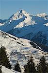 Mayrhofen ski resort, Zillertal Valley, Austrian Tyrol, Austria, Europe