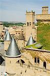 Médiévale vieille ville, Olite, Navarre, pays basque, Espagne, Europe