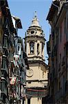 Église cathédrale, Pampelune, Navarre, pays basque, Espagne, Europe
