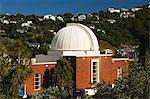 Observatoire Carter et planétarium sur Mount Victoria dans les jardins botaniques, le seul du genre au Pacific North Island, New Zealand, New Zealand, Wellington,