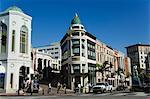 Boutiques de Rodeo Drive, Beverly Hills, Los Angeles, Californie, États-Unis d'Amérique, l'Amérique du Nord