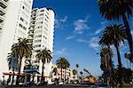 Santa Monica Beach condominiums, Santa Monica, Los Angeles, Californie, États-Unis d'Amérique, Amérique du Nord
