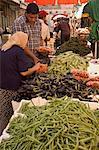 Fruits et légumes marché, Amman, Jordanie, Moyen-Orient
