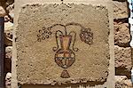 Wall mosaic, Moses Memorial Church, Mount Nebo, East Bank Plateau, Jordan, Middle East